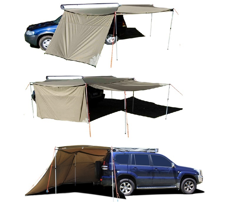 Oztent Foxwing Awning - Tapered Zip Extension Panel