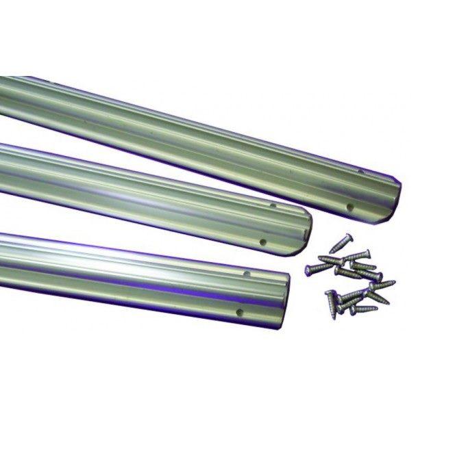 Leisurewize Awning Rail Pack - 3x 1.2m lengths
