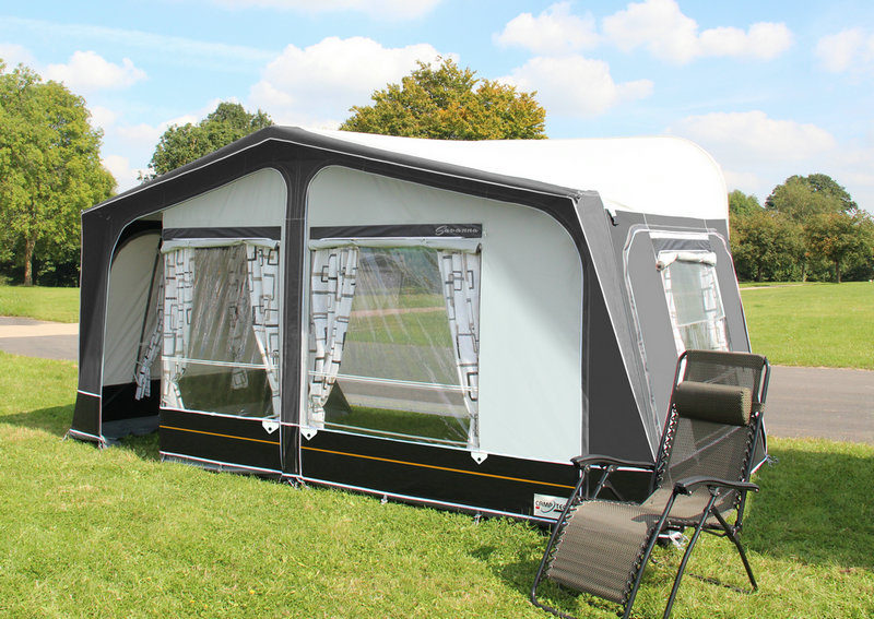 CampTech Savanna Full Awning - Grey