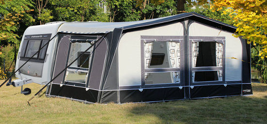 CampTech Eleganza Full awning - Anthracite/Light Grey