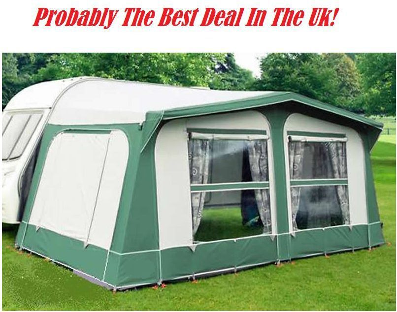 Norcamp Rio Acrylic Full Awning 750 / 775 / 800cm - Empress Teal