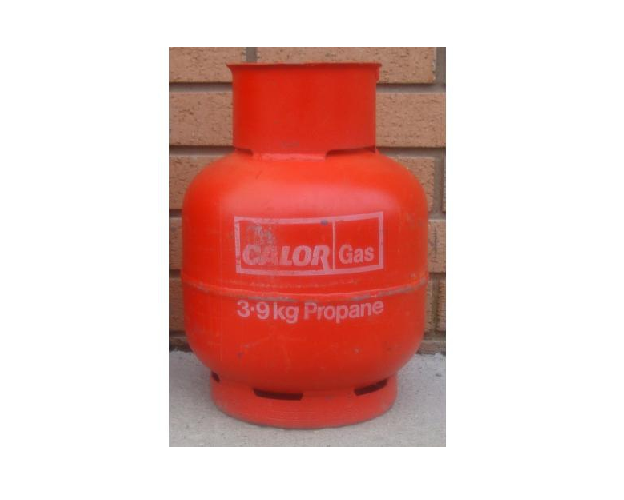 Calor 3.9KG Propane Gas Cylinder - Refill
