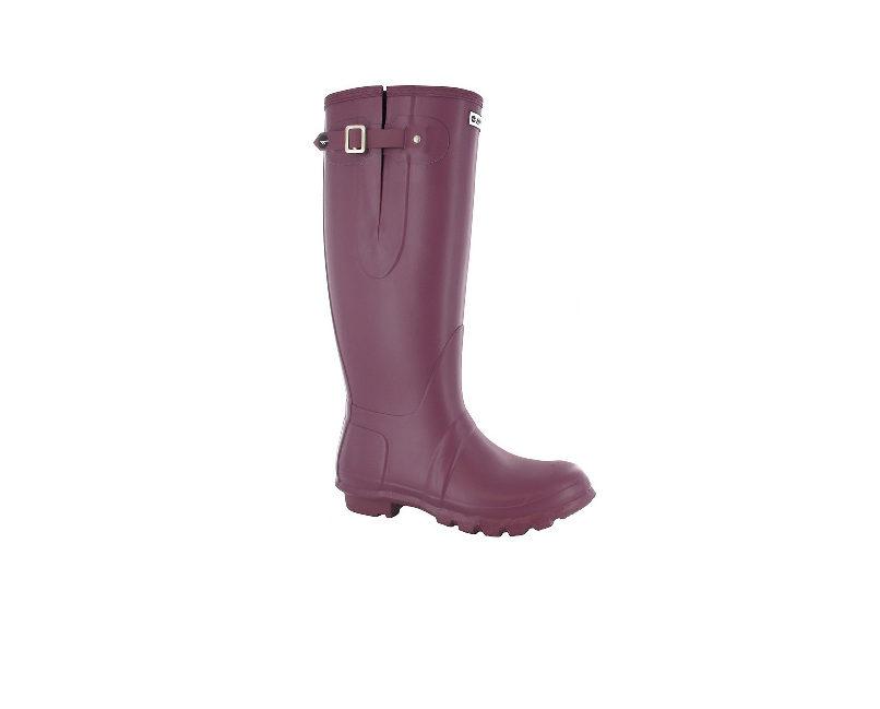 Hi-Tec Neo Womens Wellington Boots - Plum