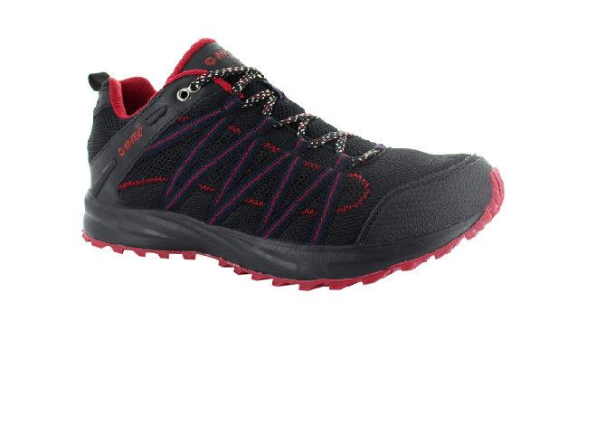 Hi-Tec Men's Sensor Trail Lite - Black/Red
