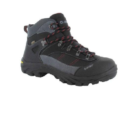 Hi-Tec Caha Womens Waterproof Boot - Black/Red