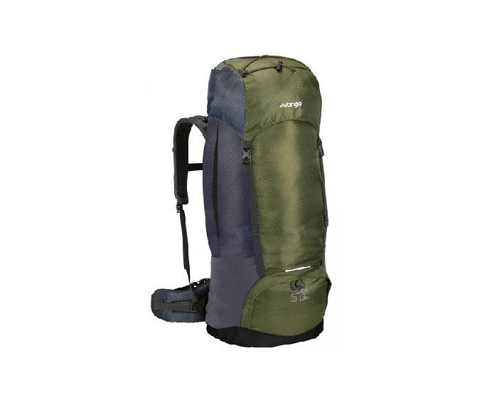 Vango Explorer II 60+10 Rucksack - Forest Green