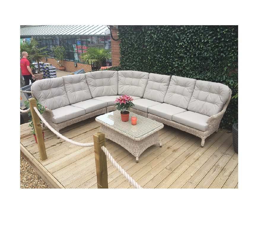 4 Seasons Outdoor Buckingham Modular Lounge Set - Praia Weave
