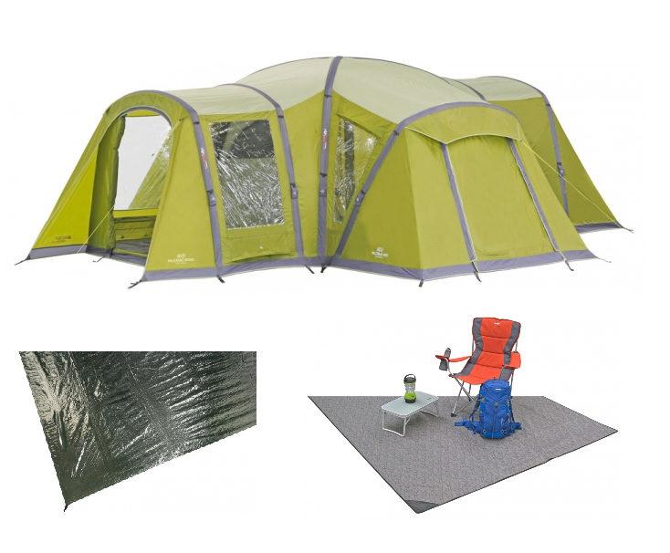 Vango Palmero 800Xl Tent Airbeam Nc 1