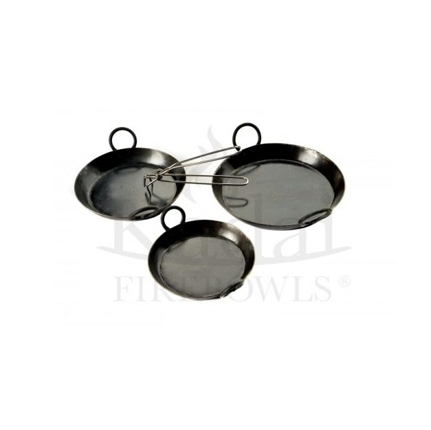 Kadai set of 3 Skillets