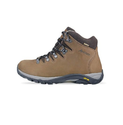 Anatom Q2 Ultralight Women's Hiking Boots - Brown Nubuck