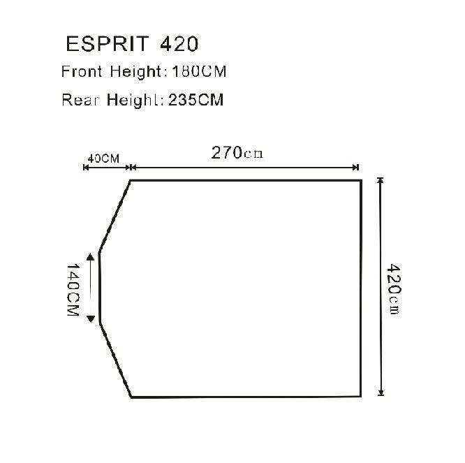 Outdoor Revolution Esprit 420 Caravan Air Awning
