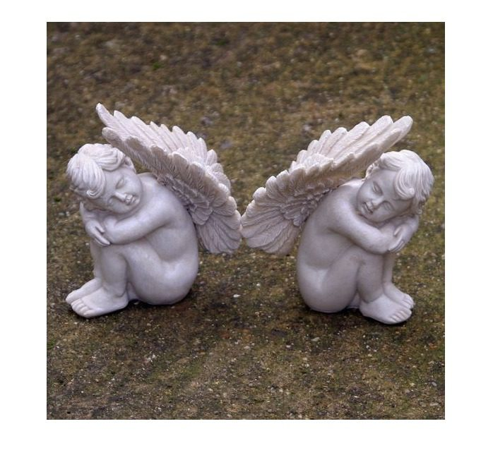 Enigma Peaceful Cherubs Pair