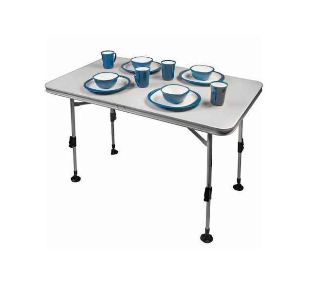 Kampa Element Camping Table Large - White