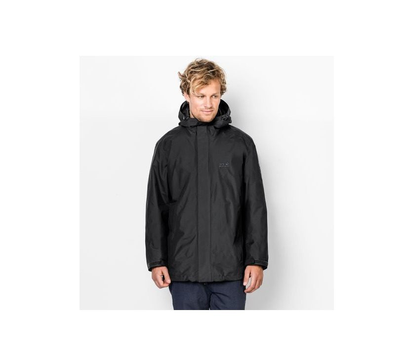Jack Wolfskin Iceland 3 in 1 Mens - Black