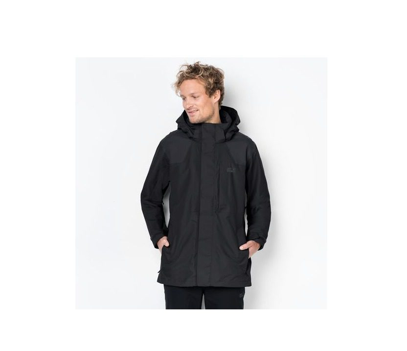 Flex Jacket Jack Men's Black Brooks Range Wolfskin 5c4RLq3Aj