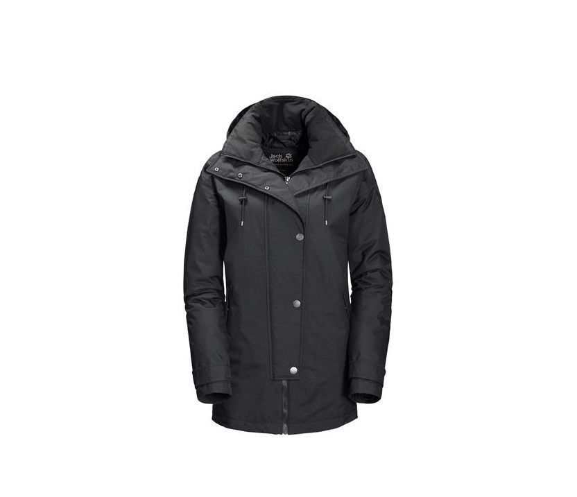 Jack Wolfskin Toronto Bay Womens Jacket - Black