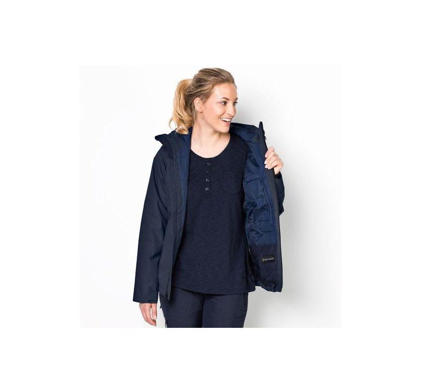 Jack Wolfskin Chilly Morning Womens Jacket - Midnight Blue