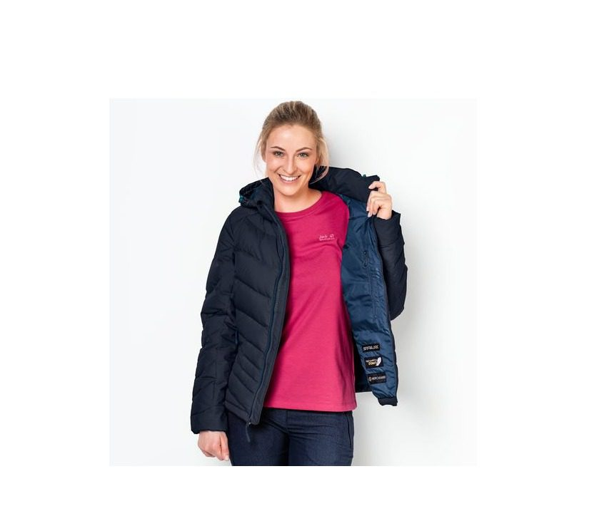 Jack Wolfskin Selenium Womens Jacket - Night Blue