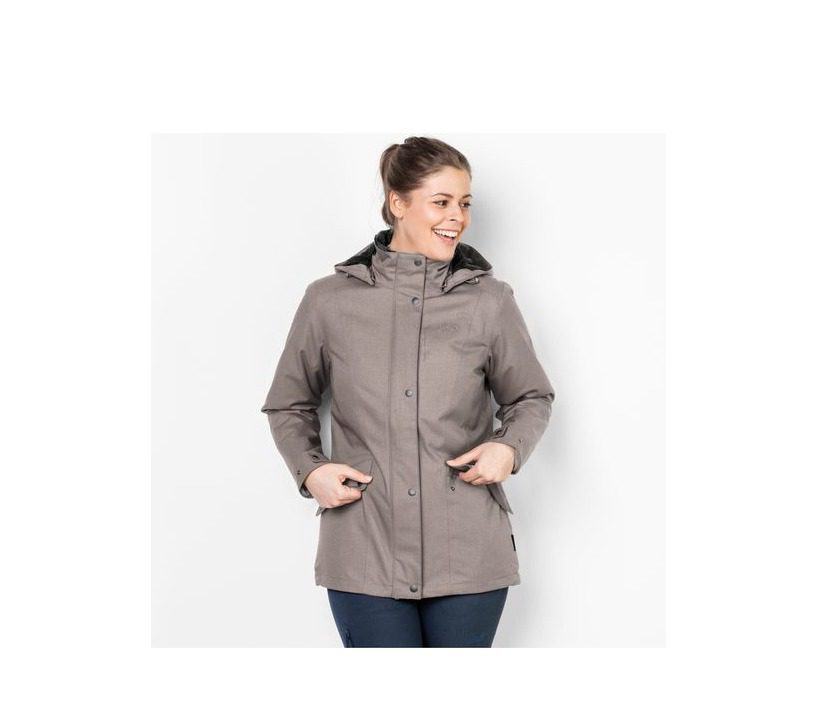 Jack Wolfskin Park Avenue Womens Jacket - Moon Rock