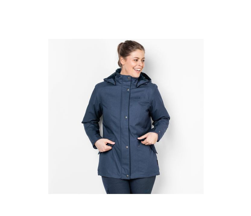 Jack Wolfskin Park Avenue Womens Jacket - Dark Sky