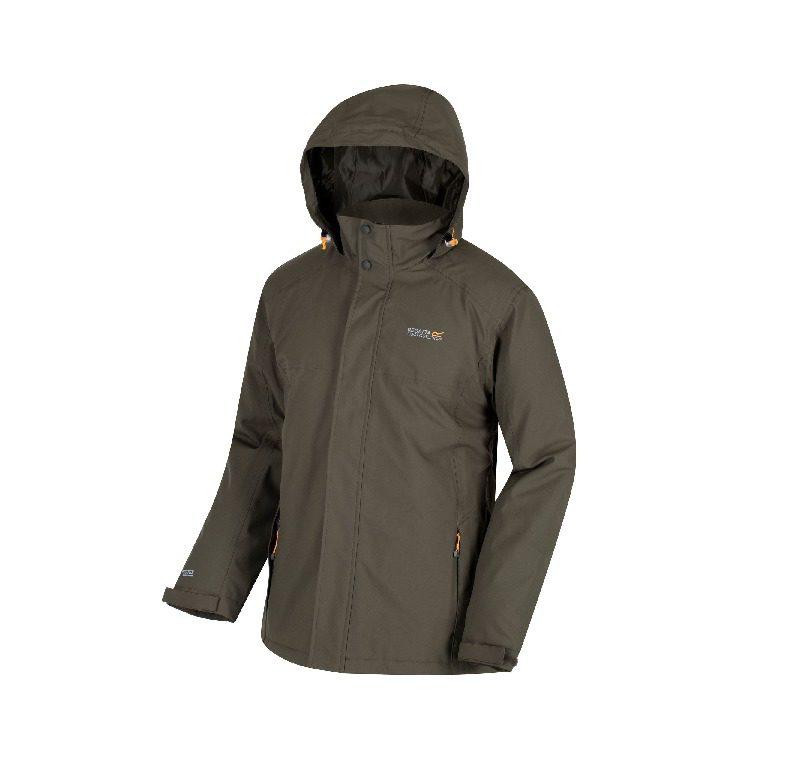 Regatta Men's Hackber Jacket - Dark Khaki