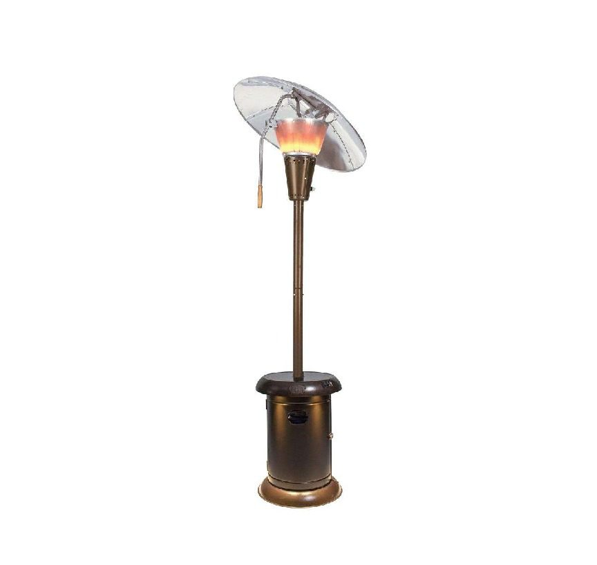 Universal Inovations Heat Focus Patio Heater with Speaker & Light