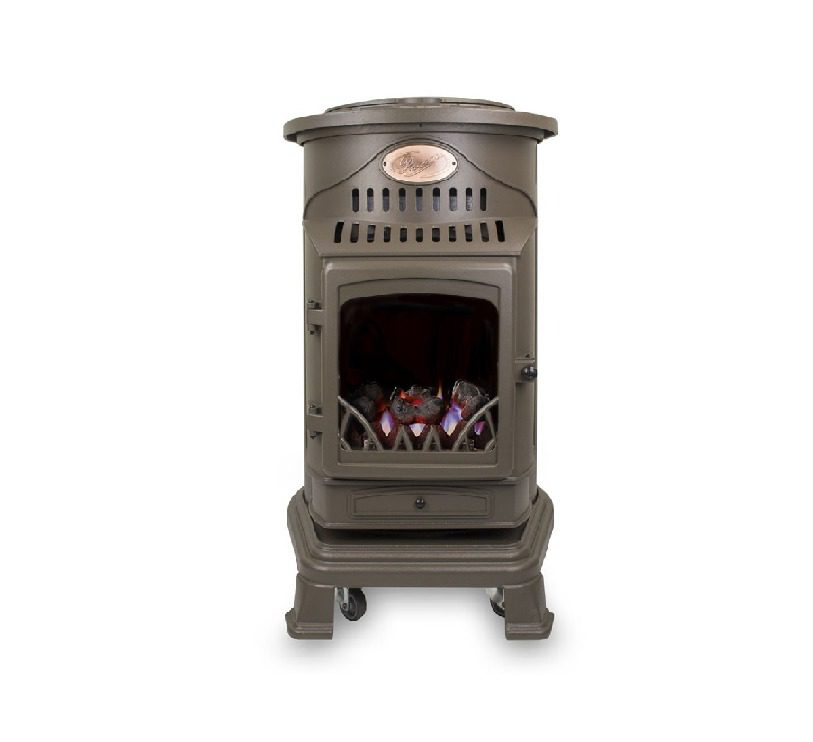 Provence Gas Heater - Honey Brown