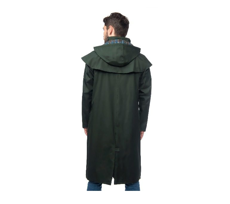Lighthouse Stockman Full Legth Rain Coat - Duffle