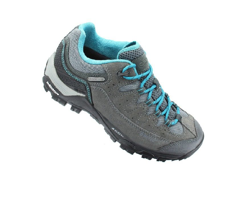 Hi-Tec Ox Belmont Women's Low I Shoe - Blue & Grey