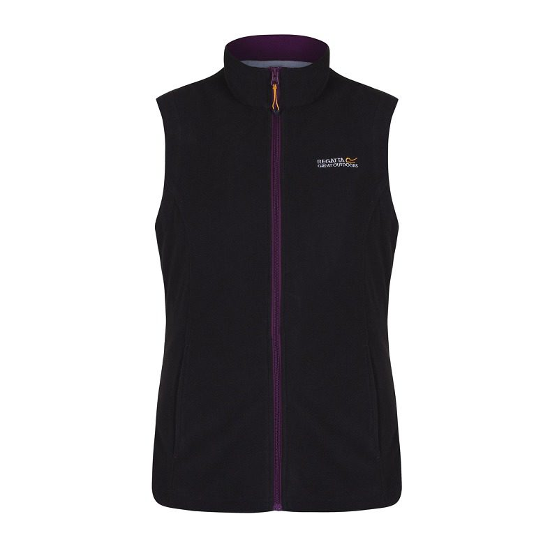 Regatta Sweetness II Fleece Gilet - Black / Blackcurrent