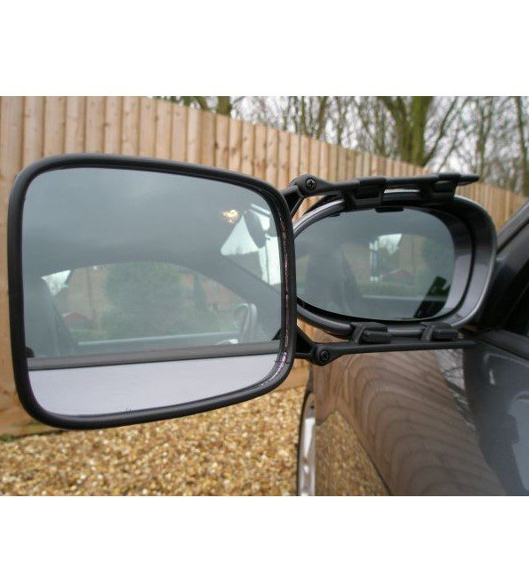 Milenco Safety Caravan Towing Mirror - convex
