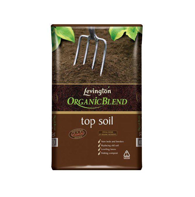 Levington Top Soil Organic Blend