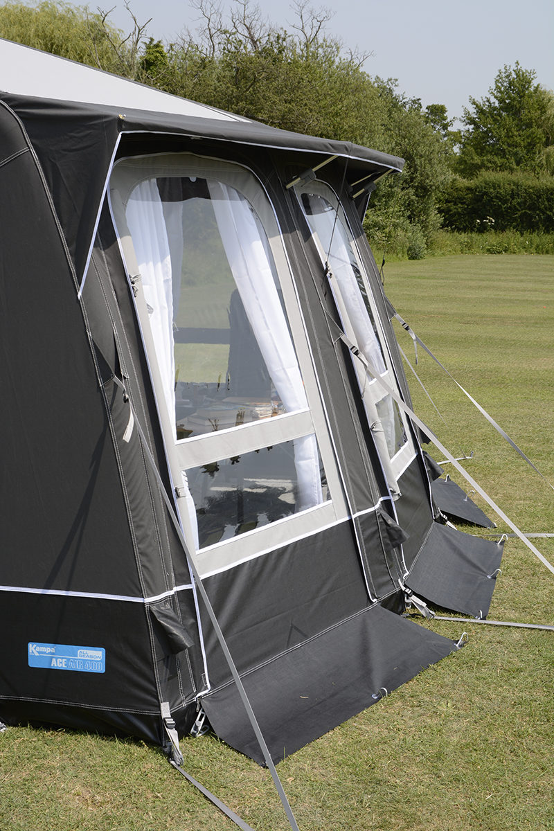 Kampa Ace Air 400 All Season Caravan Awning 2018 Caravan