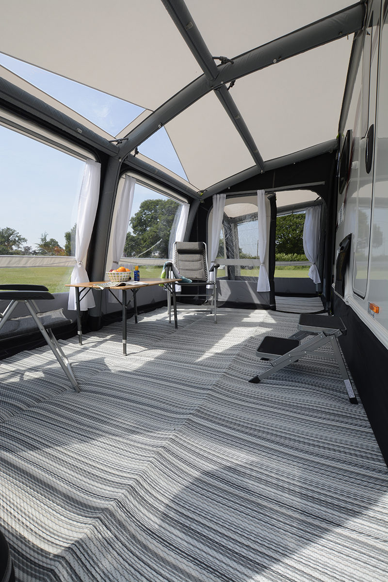 Kampa Rally Air Pro 390 Plus Right Caravan Awning 2018