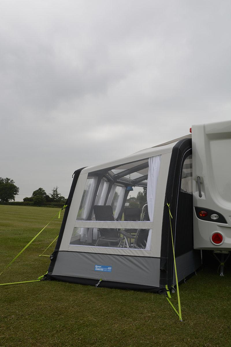 Kampa Frontier Air Pro 400 Caravan Awning 2018 Caravan