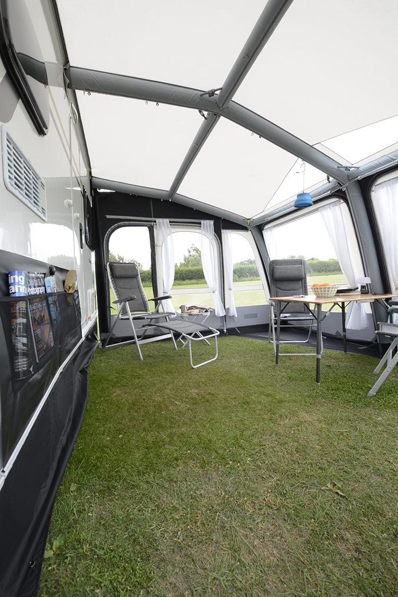 Kampa Rally Air Pro Grande 390 Caravan Awning 2018