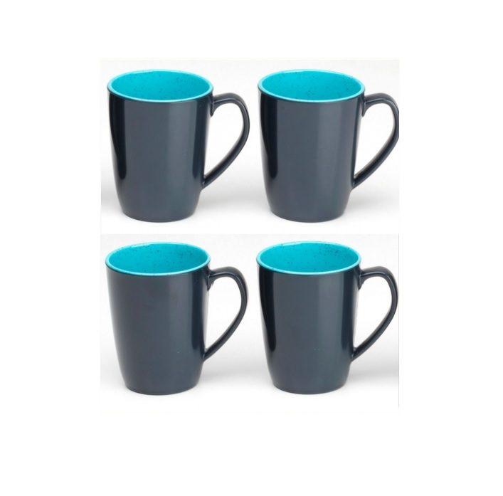 Flamefield Granite aqua mugs