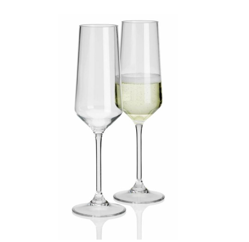 Flamefield 2 piece champagne flutes