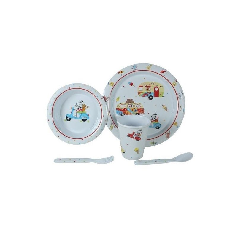 5 Piece Sparky and Friends Childrens set