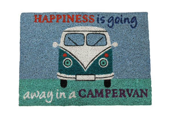 Quest Happiness is going away in a campervan
