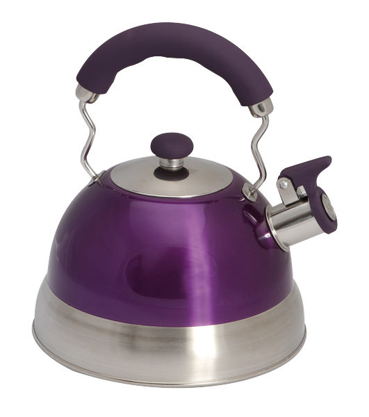 Quest 2.5l High Gloss Purple Kettle