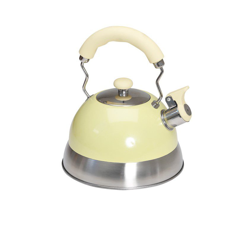 Quest Polished Cream Kettle - 2.5l