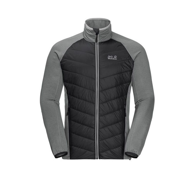 Jack Wolfskin Mens Sutherland Crossing jacket - black
