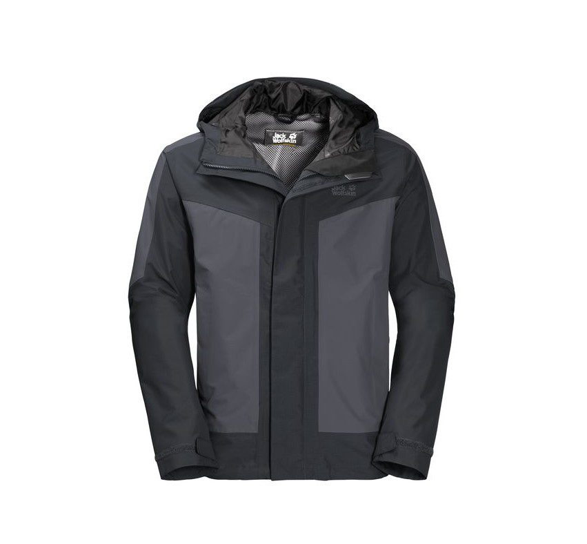 Jack Wolfskin Mens Venture Tour Jacket - Phantom