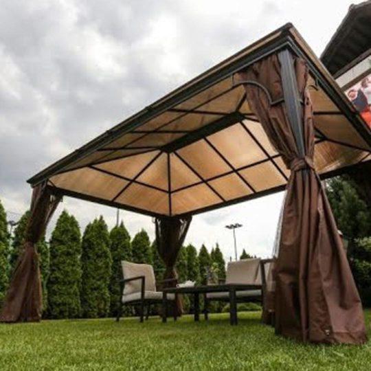 kensington gazebo with polycarbonate roof garden gazebos norwich camping