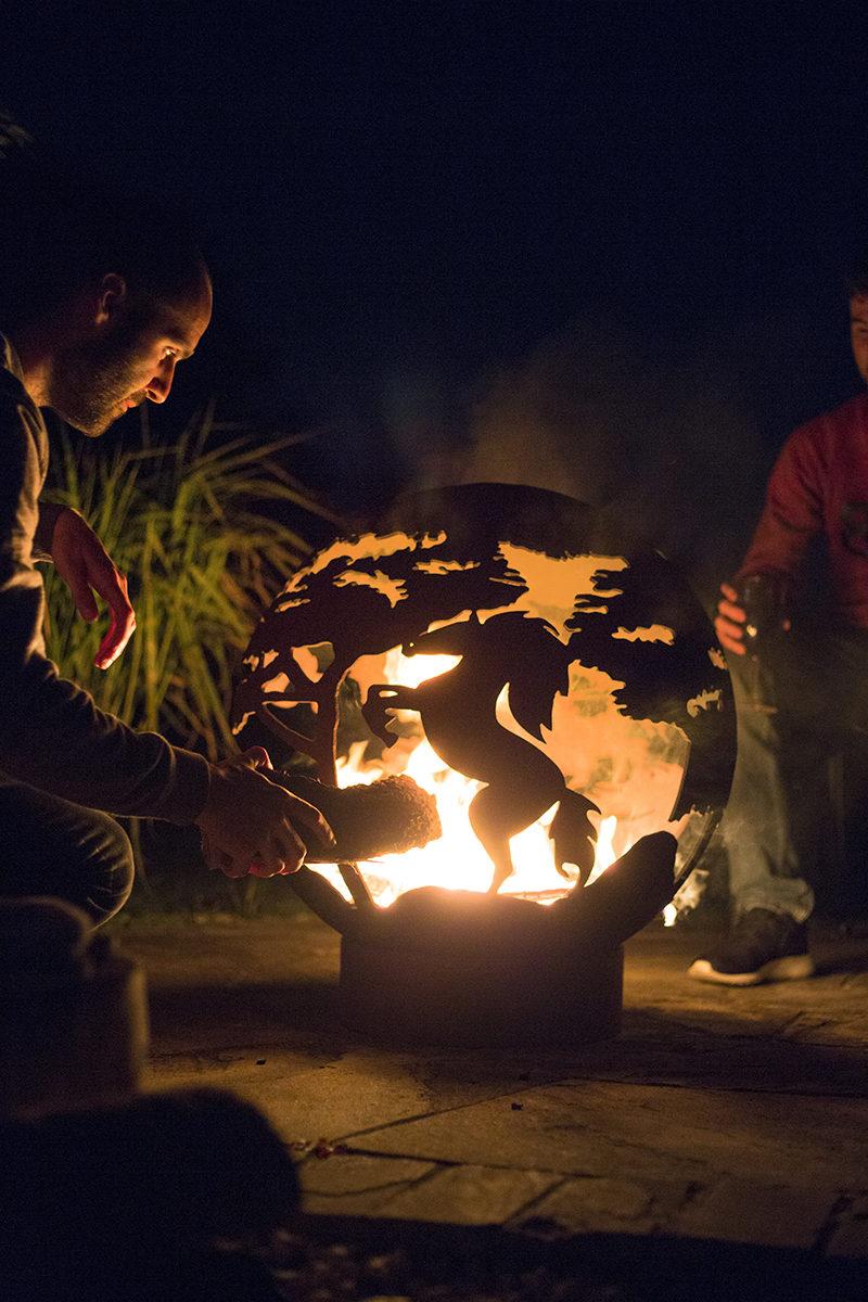 La Hacienda Horse Fire Globe