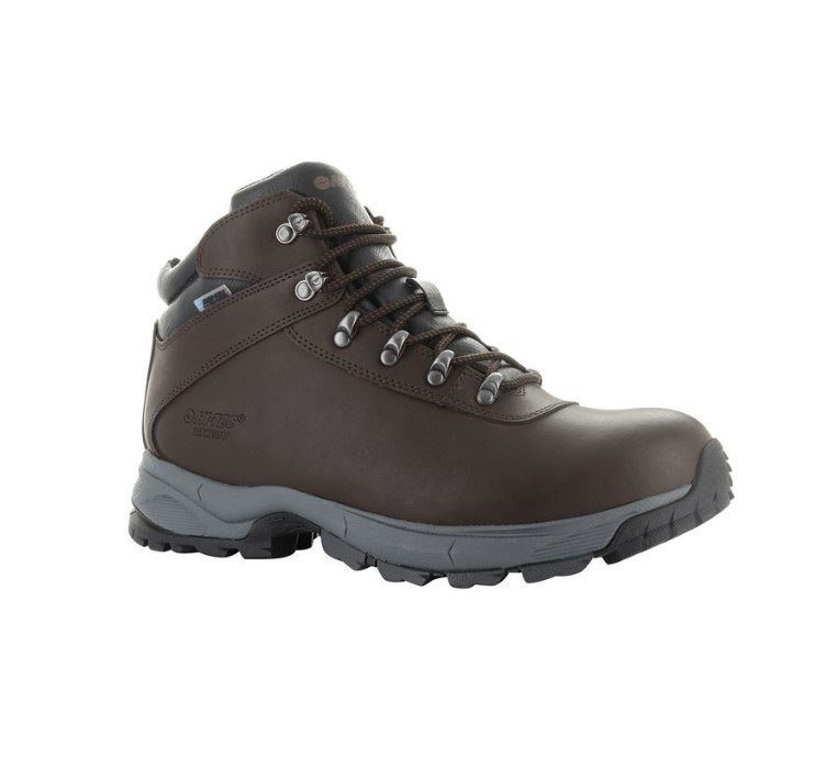 Hi-Tec Eurotrek Lite Womens - Dark Chocolate