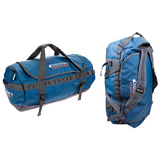 Blue 2 In 1 Travel Bag 60L By Discovery Adventures 90D428Frsp
