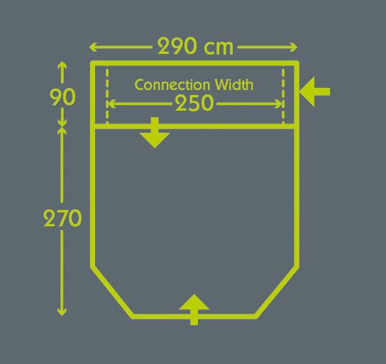 Travel Pod Action Air Floorplan Charcoal