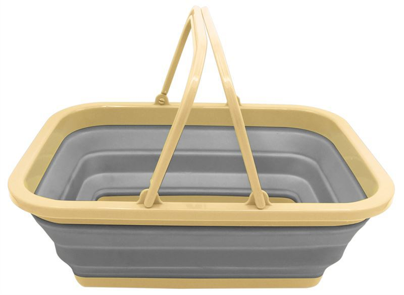 Leisurewize Collapsible Washing Bowl with Handle